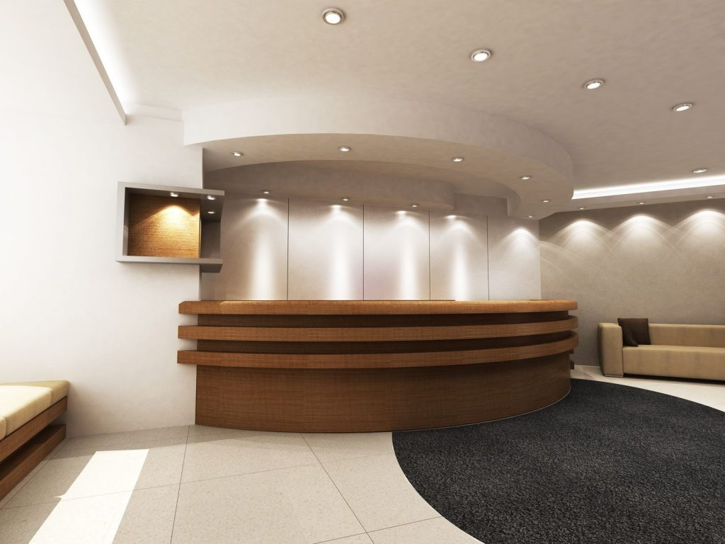manufacturers of hotel reception desks
