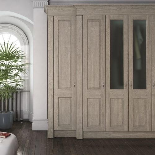 shabby chic fitted wardrobes